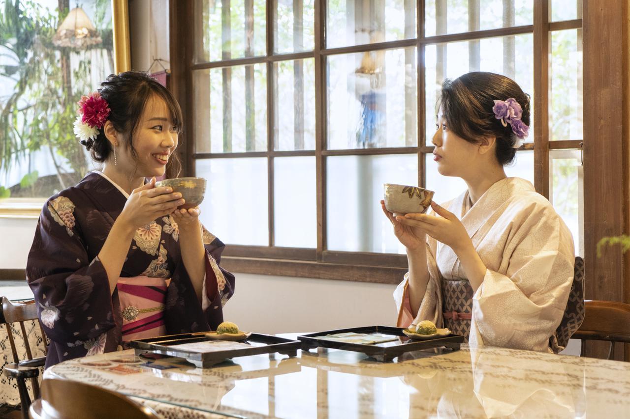 画像: 【毛利氏庭園+αスポット②】 茶房 舞衣/大正ロマン香る喫茶室で静寂のひとときを
