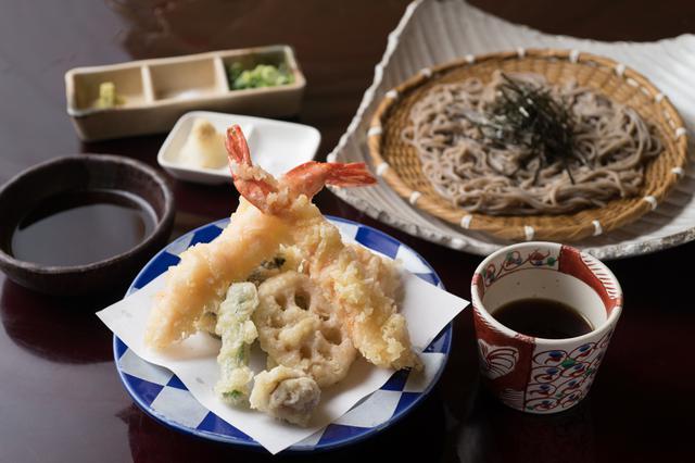 画像: 天ざる蕎麦1760円