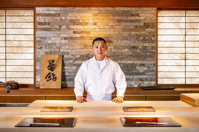 画像1: 住宅街のミシュラン1つ星、国内外から注目される鮨屋「菊鮨」でランチ