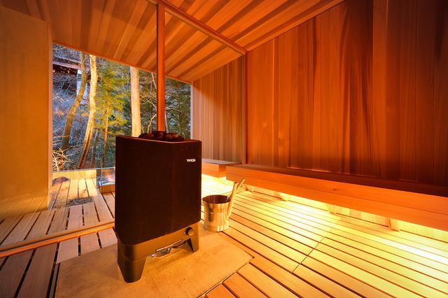 画像4: 【群馬県】温泉で温まりながらアウトドア気分を味わえる「温泉グランピング シマブルー」