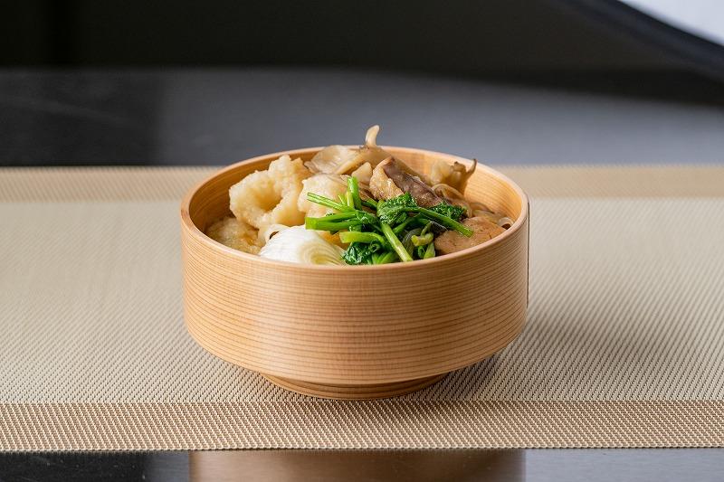 画像1: 【秋田】地元No.1の「きりたんぽ」を鍋と味噌焼きで堪能