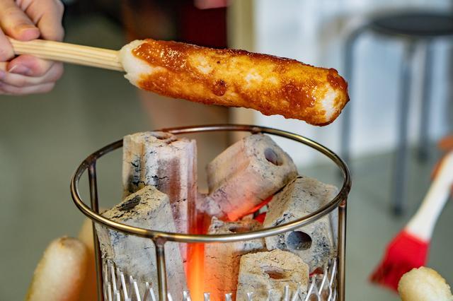 画像3: 【秋田】地元No.1の「きりたんぽ」を鍋と味噌焼きで堪能