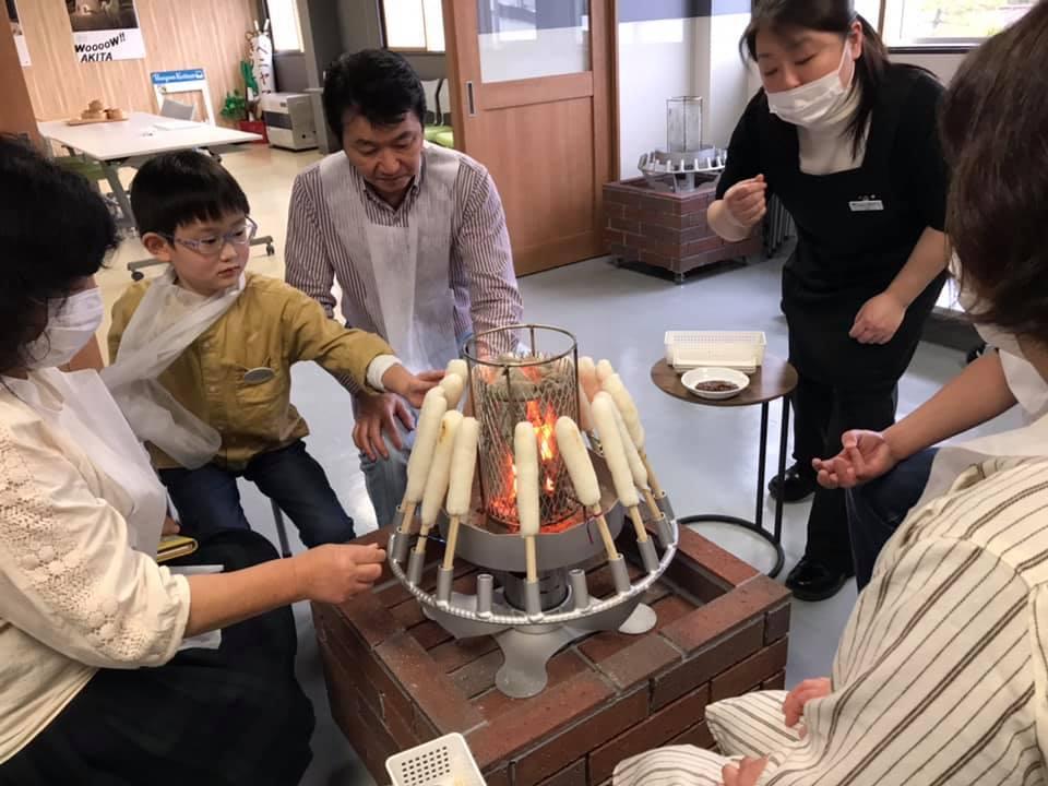 画像4: 【秋田】地元No.1の「きりたんぽ」を鍋と味噌焼きで堪能