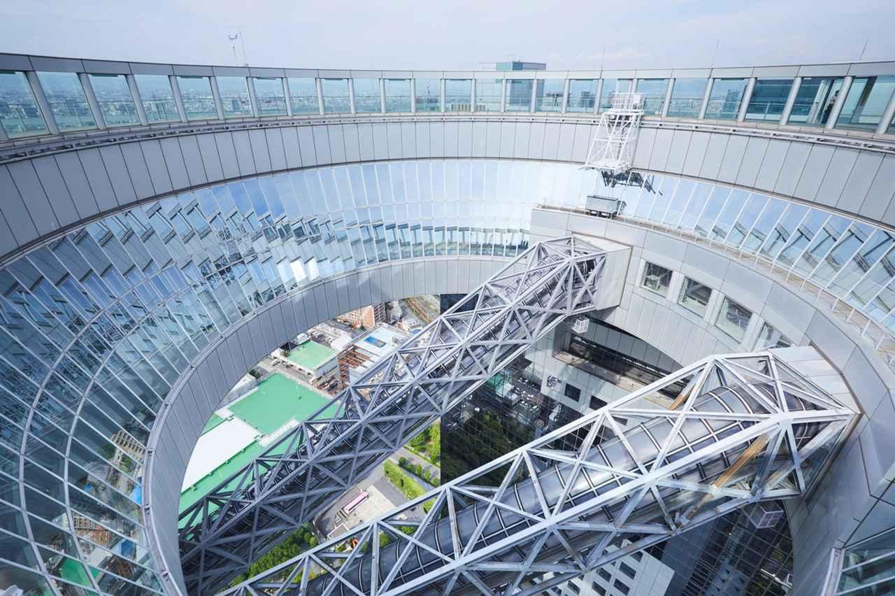 画像1: 【大阪】「絹谷幸二 天空美術館」で、大阪の摩天楼を体験する