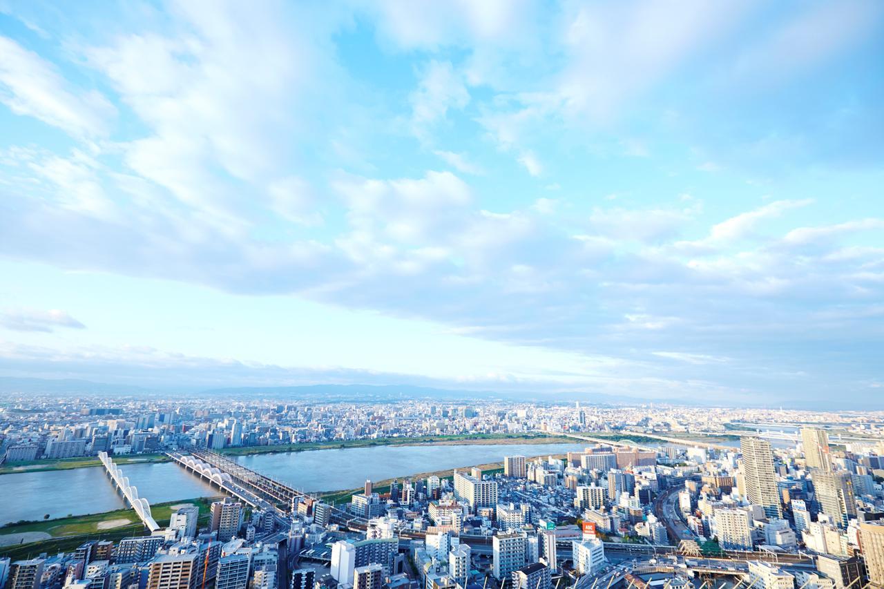 画像2: 【大阪】「絹谷幸二 天空美術館」で、大阪の摩天楼を体験する