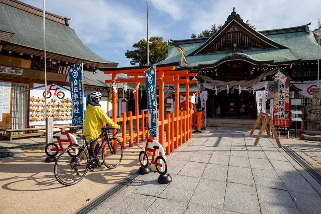 画像1: サイクリストを見守る日本唯一の「自転車神社」大山神社