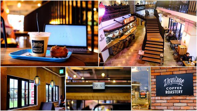画像: 店内はWi-Fi完備、カウンターテーブルやソファ席にもコンセントあり。コーヒー片手に優雅なワークタイム。
