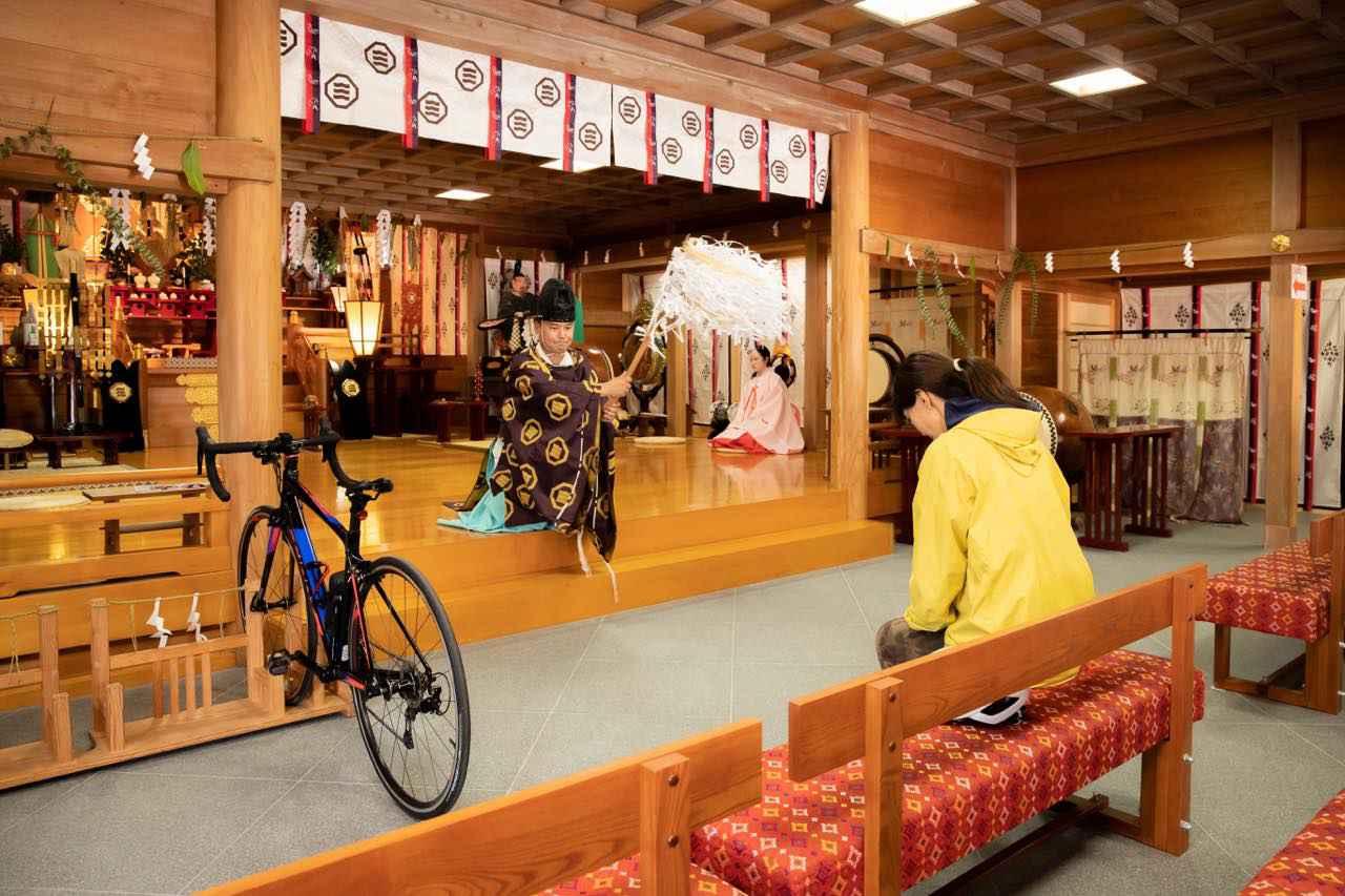 画像3: サイクリストを見守る日本唯一の「自転車神社」大山神社