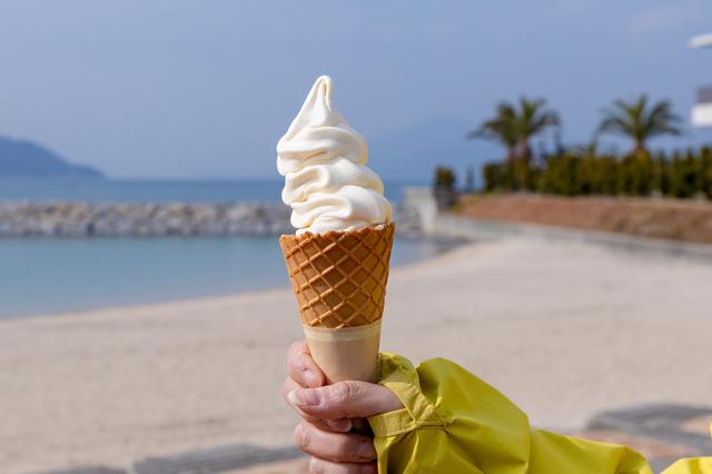 画像2: 「伯方の塩」発祥の海岸で、ちょっと変わったスイーツをいただきます
