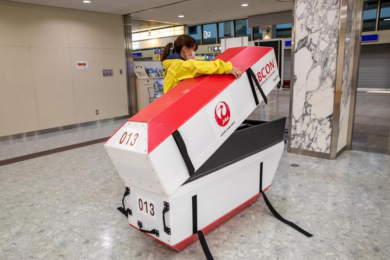 """画像2: """"愛車と飛行機""""の夢を叶えます。JALの輪行サービスで行く、しまなみ海道サイクリング"""
