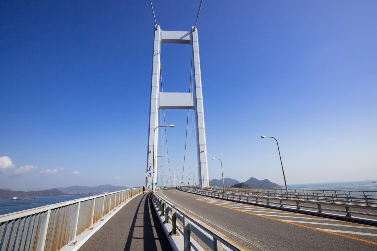 画像1: いざ、しまなみ海道サイクリングの始まりです!