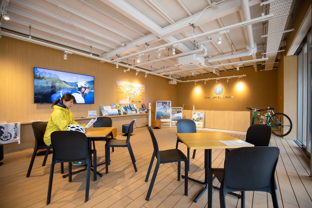 画像2: 新たなサイクリングターミナル「今治駅前サイクリングターミナル」