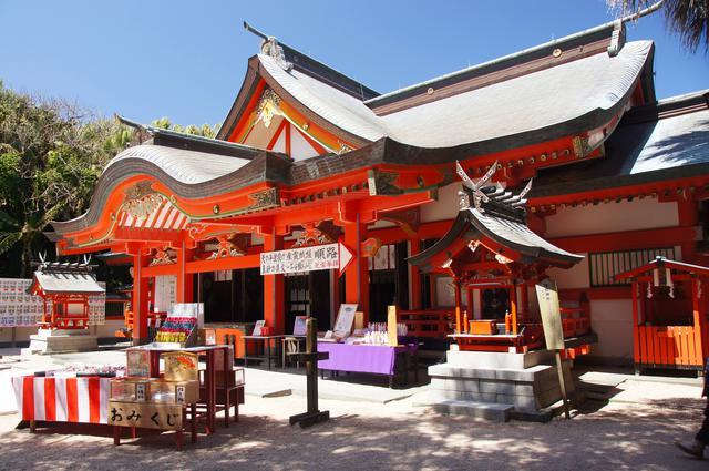 画像: 9:00 青島神社で縁結びの祈願!