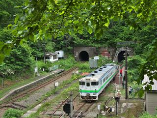 【豊浦町】小幌駅