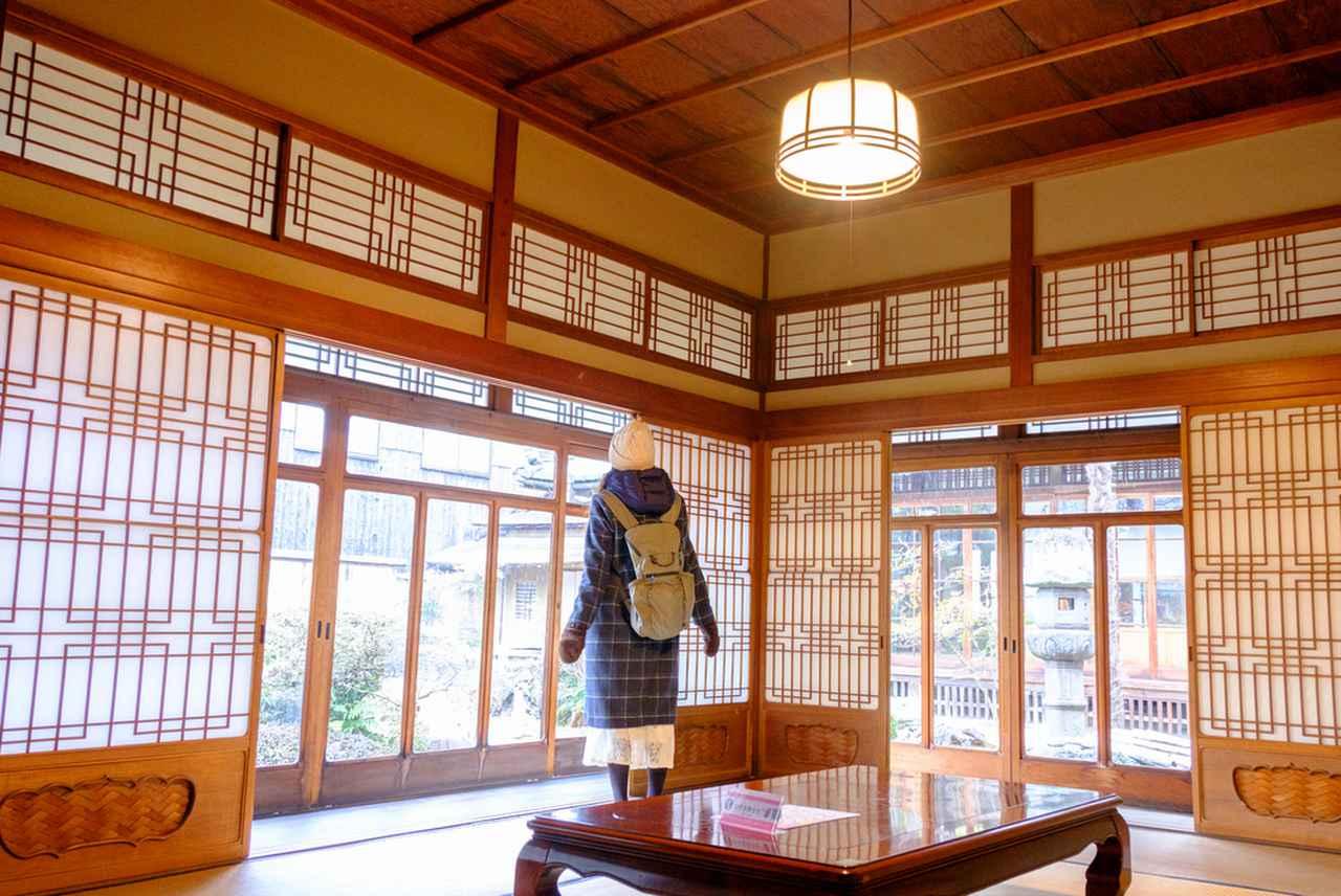 画像: 江戸、明治、大正、昭和と増築された商家の暮らしが見られます。