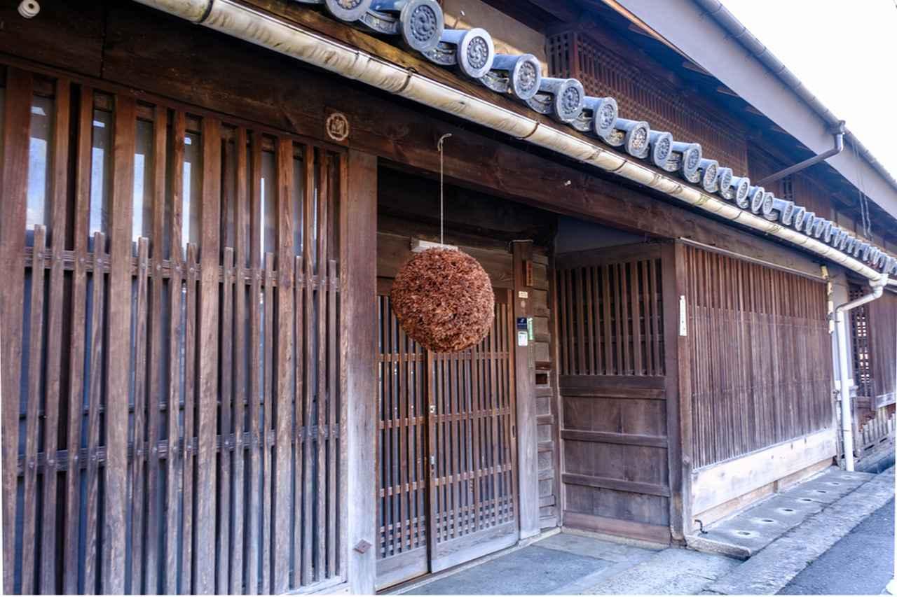 画像: 旧苅田家は元酒蔵を営む家柄です。