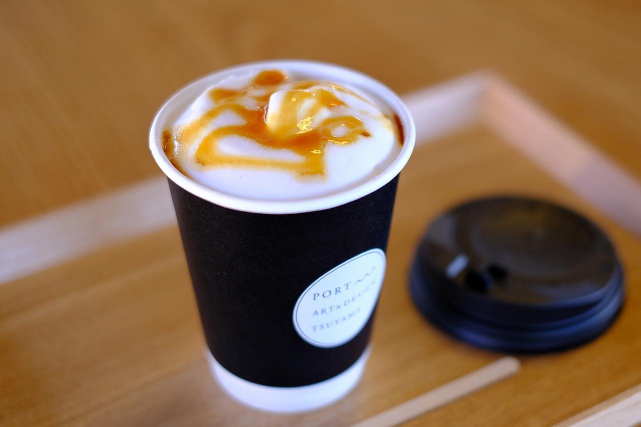 画像: 本館の吹き抜けの部屋でおいしいコーヒーもいただけました。