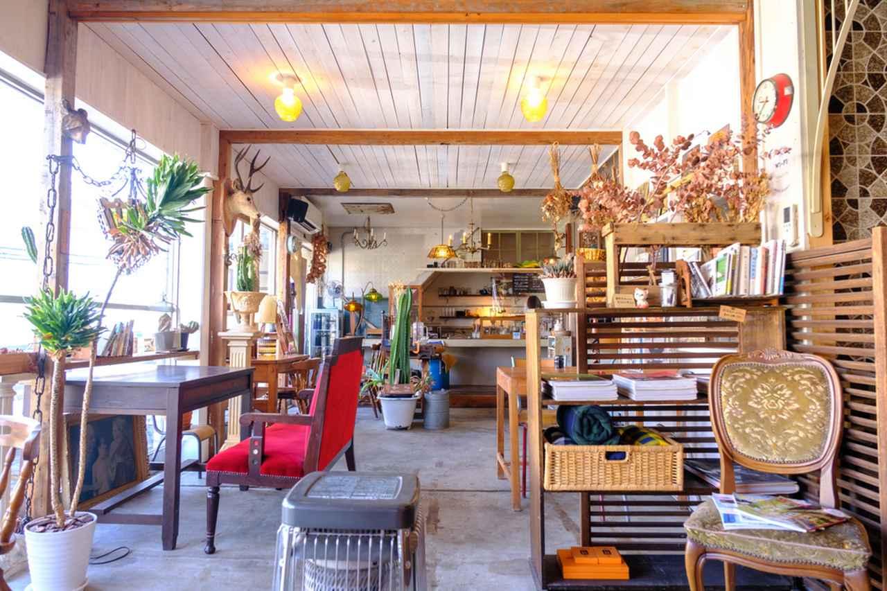 画像: 田町エリアのカフェでランチいただきます。