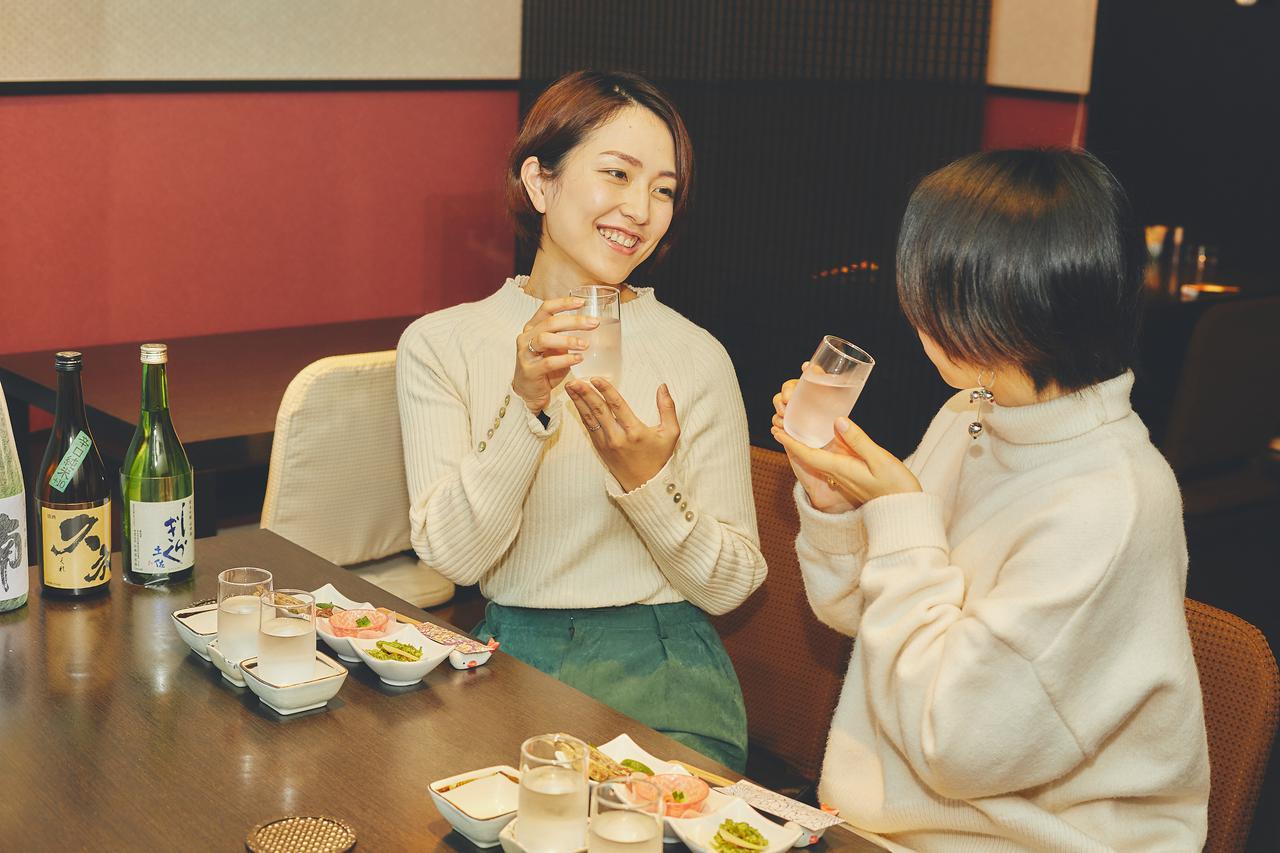 画像1: 高知市街の居酒屋で高知の食材をツマミに高知の日本酒を飲み比べ