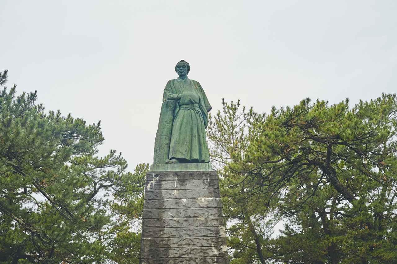 画像2: 桂浜の絶景とあの有名な龍馬像に対面!