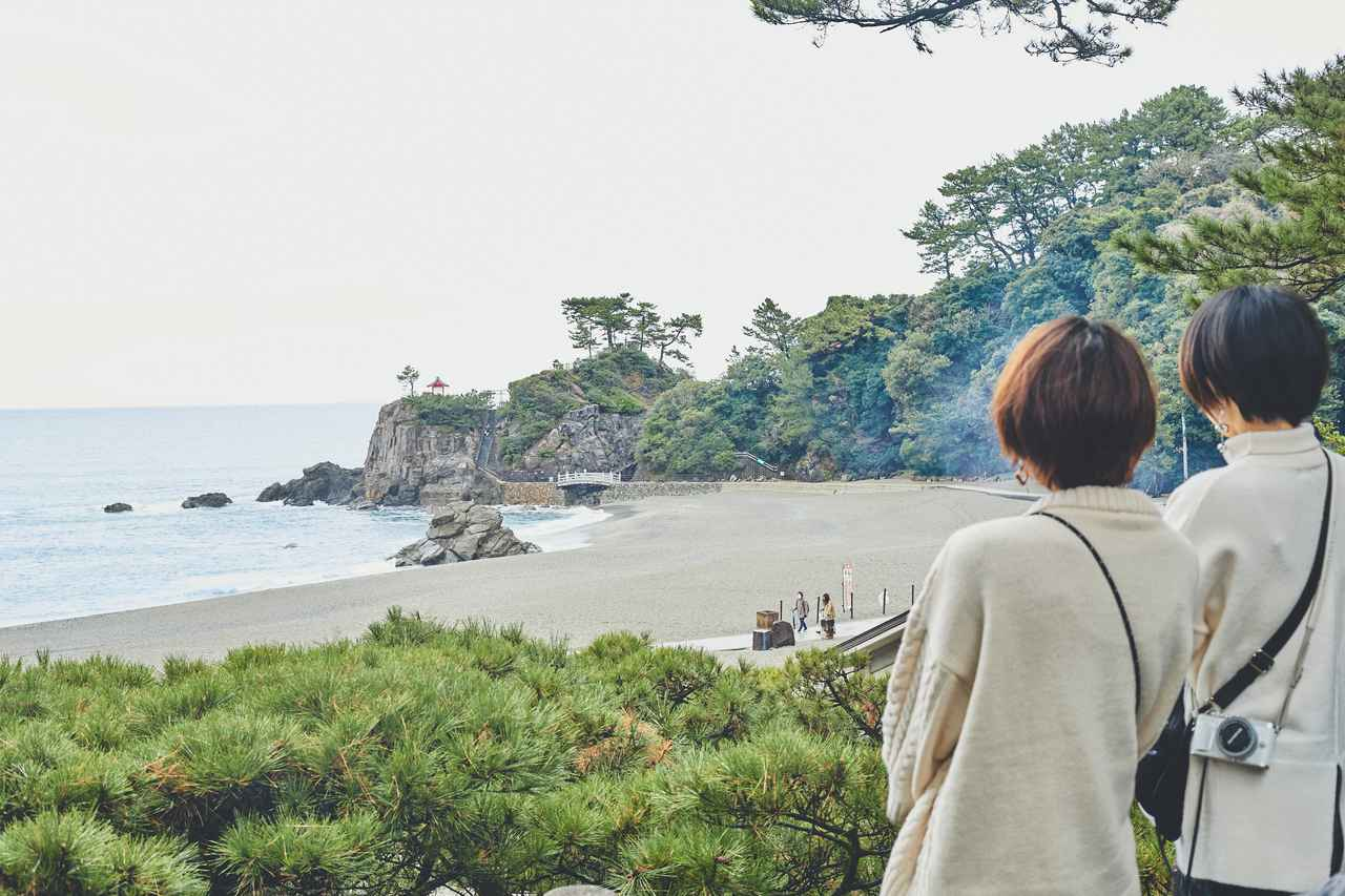 画像3: 桂浜の絶景とあの有名な龍馬像に対面!
