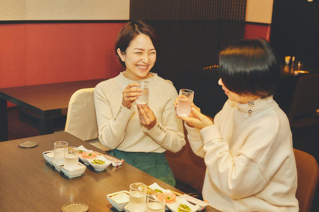 画像2: 高知市街の居酒屋で高知の食材をツマミに高知の日本酒を飲み比べ