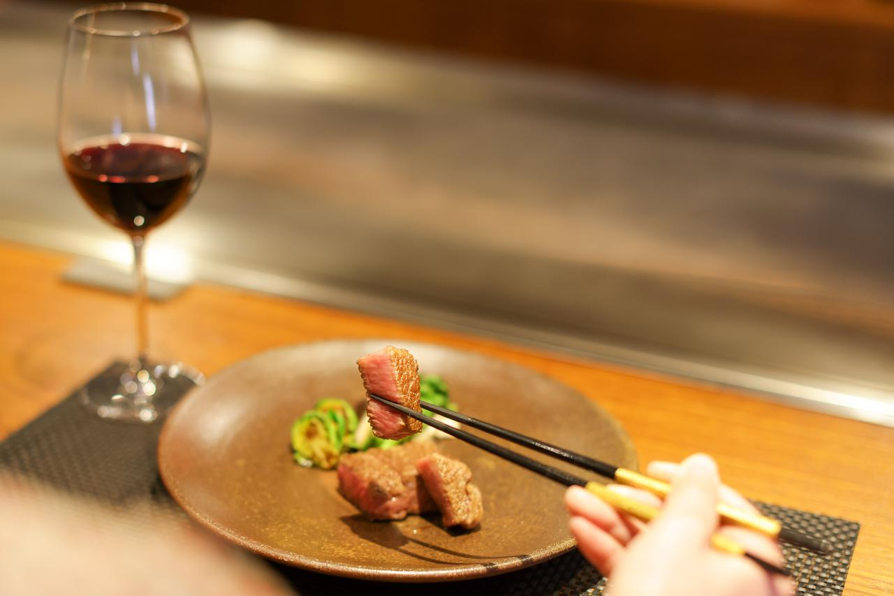画像4: 肉の都・津山だからこそ味わえる厳選和牛を鉄板焼きで。「Steak&Wine Bocci」