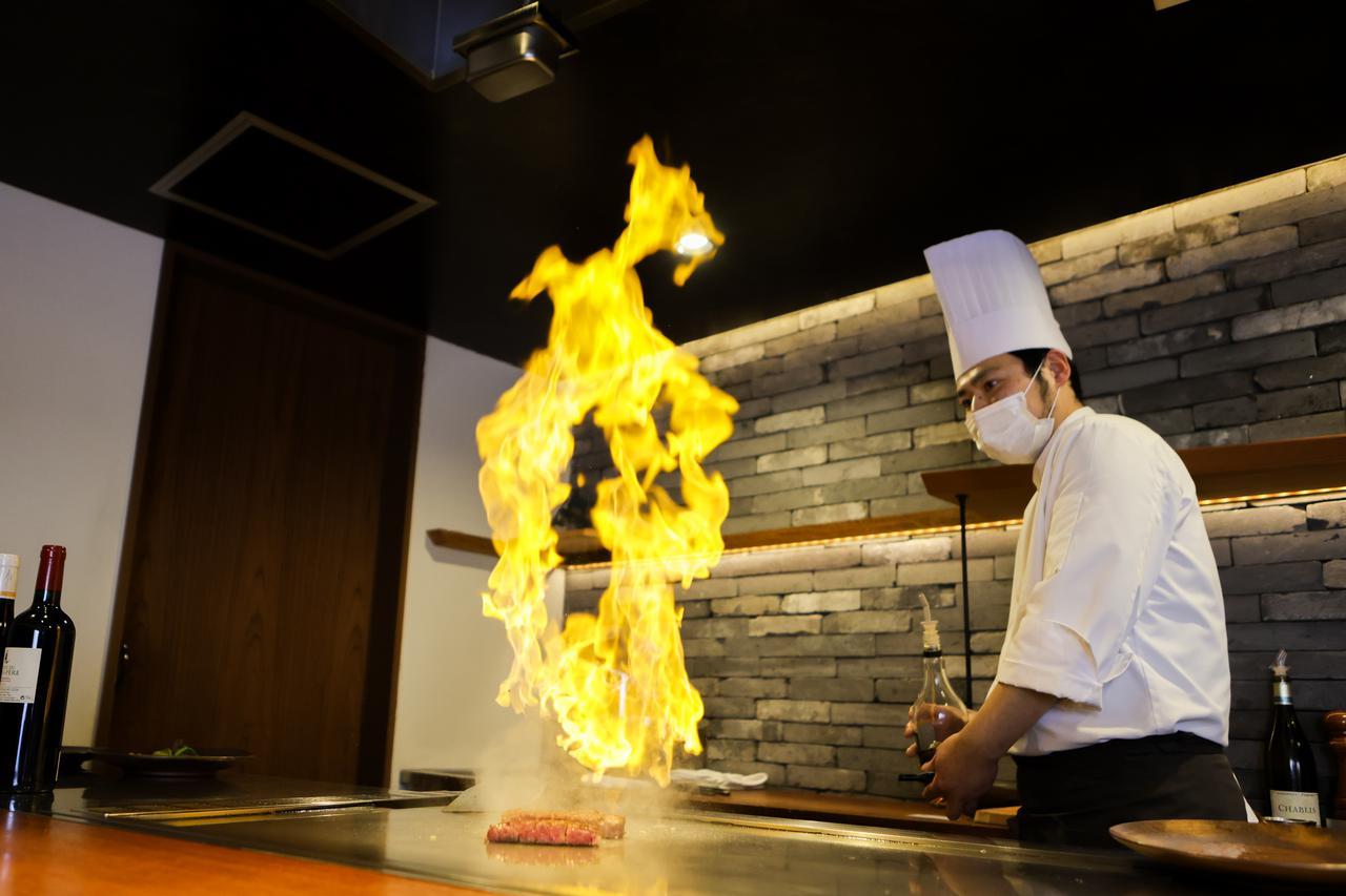 画像3: 肉の都・津山だからこそ味わえる厳選和牛を鉄板焼きで。「Steak&Wine Bocci」