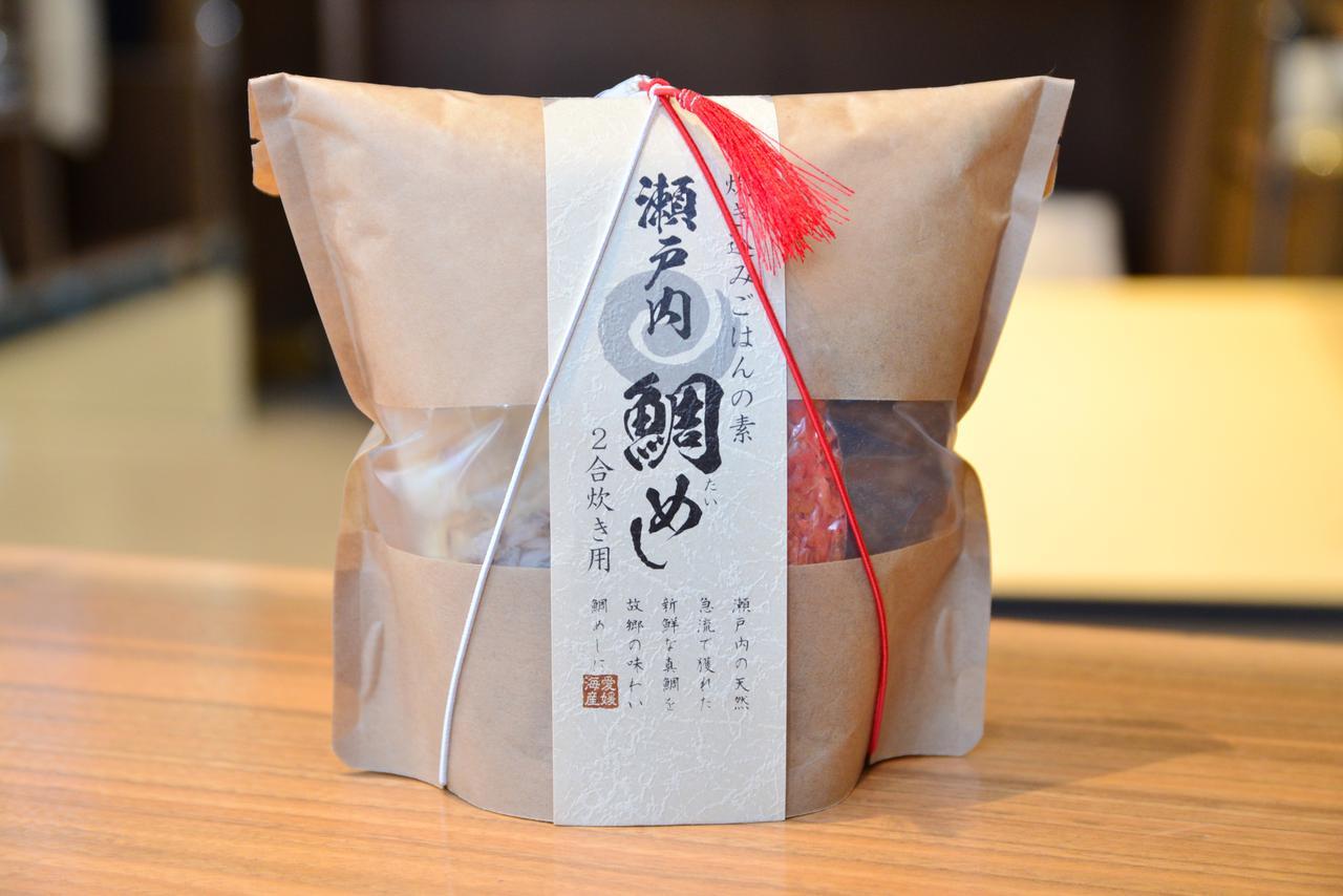 画像: 「炊き込みごはんの素 瀬戸内 鯛めし 2合炊き用」(1,080円・税込)