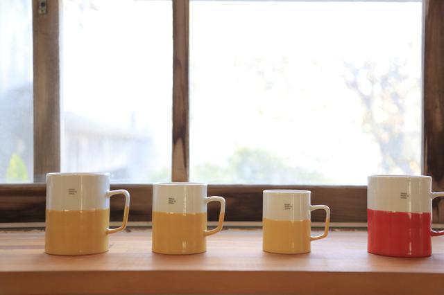 画像: ツートーンカラーが愛らしい「essence of life」のマグカップ