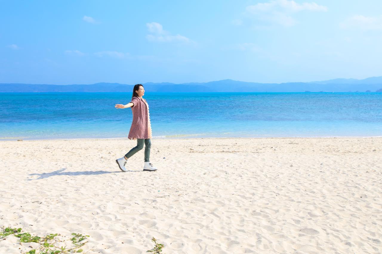 画像4: 美しいビーチが広がる「古宇利島」で、沖縄の自然に癒される