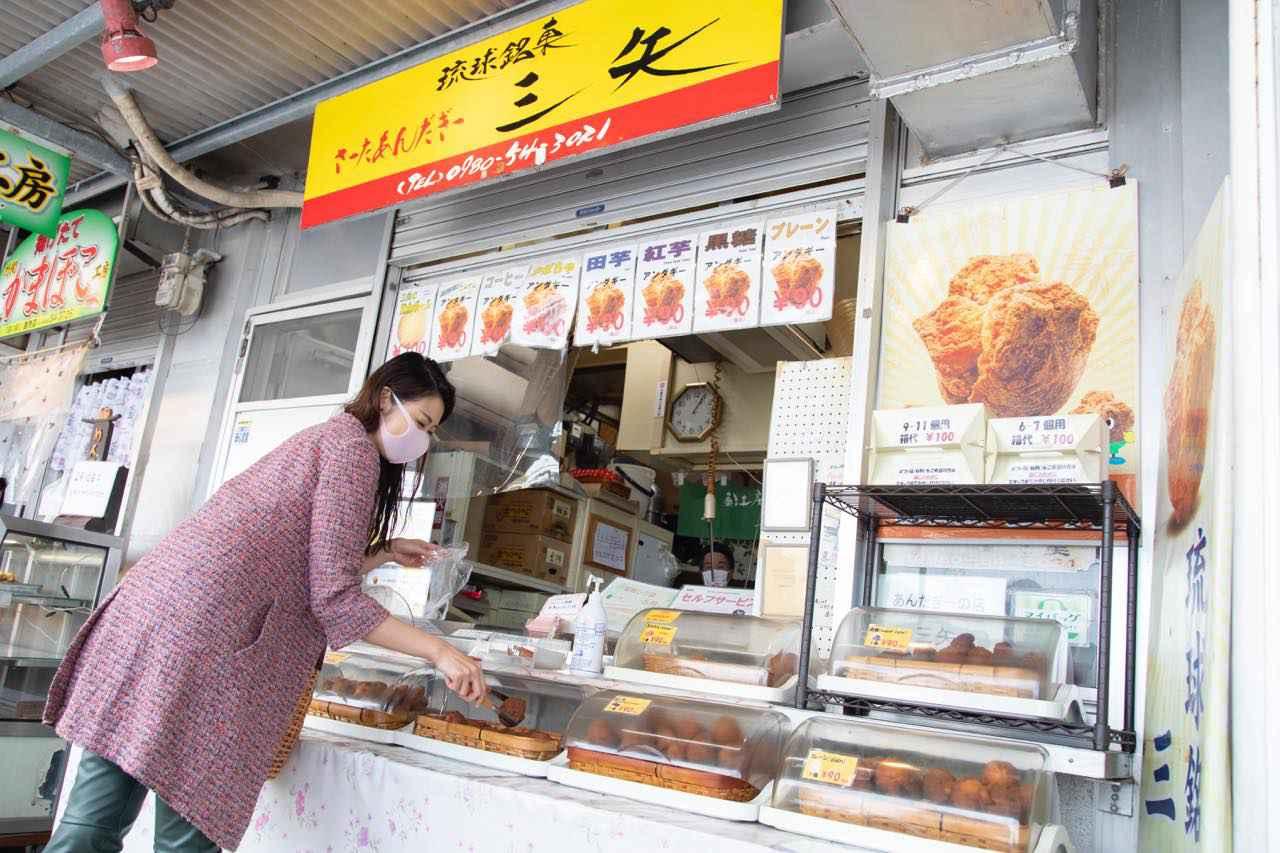 画像5: 沖縄で人気の「道の駅許田」に立ち寄って、小腹を満たす