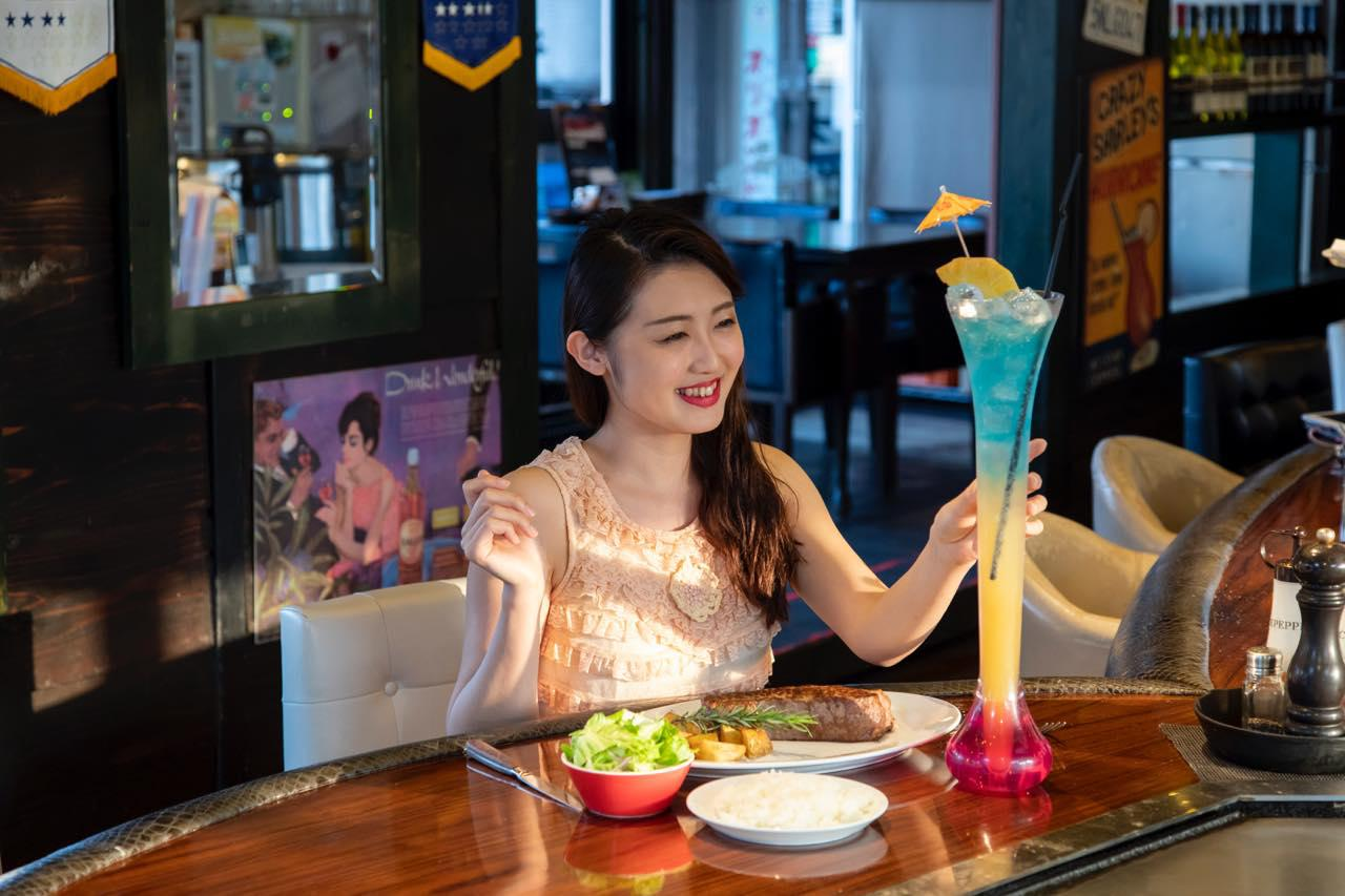 画像5: 沖縄名物・1ポンドステーキを「STEAK HOUSE NAKAMA」で堪能