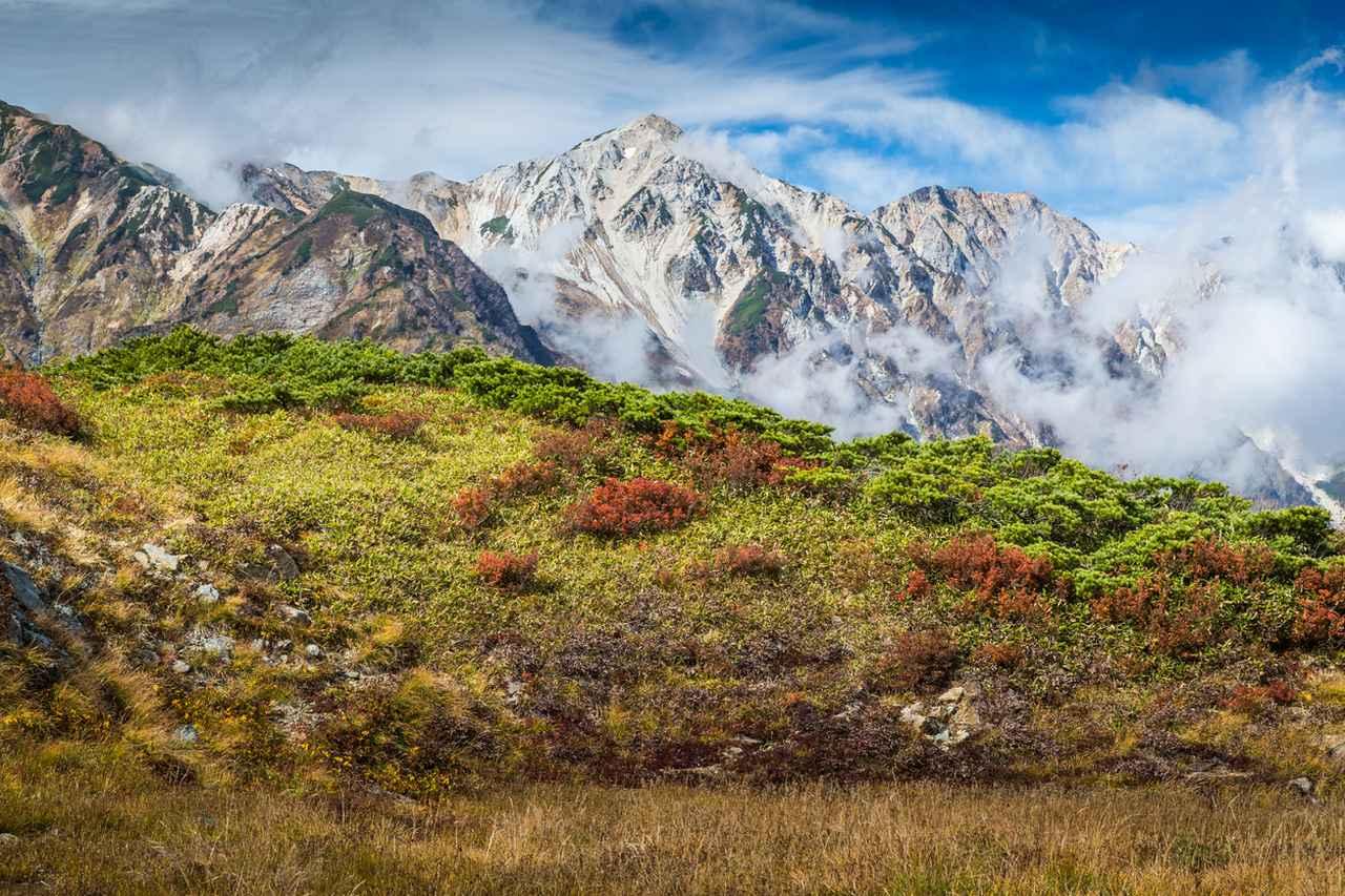 画像: 絶景スポット5「木曽山脈と飛騨山脈の美しい紅葉」
