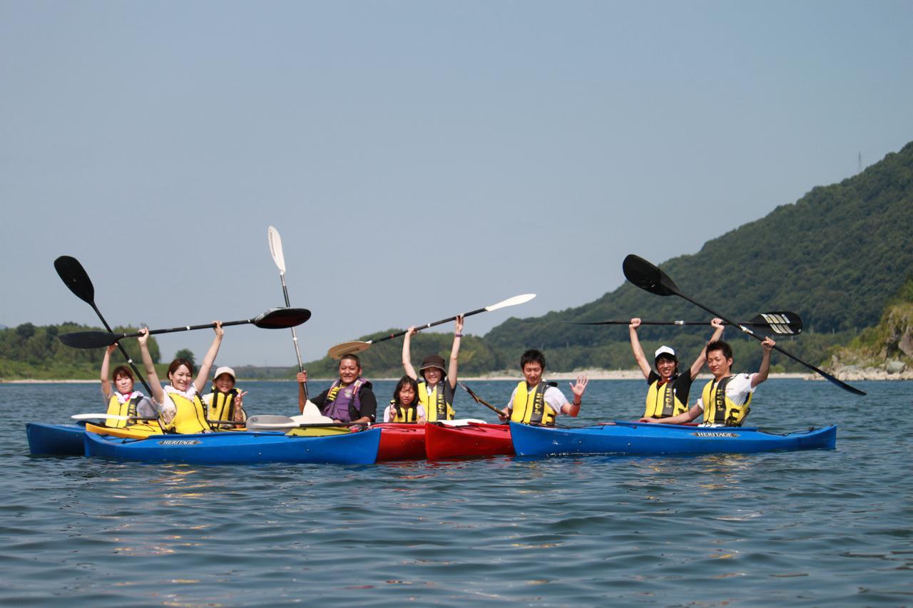 画像3: 雄大な吉野川を五感で楽しむ、リバーカヤック