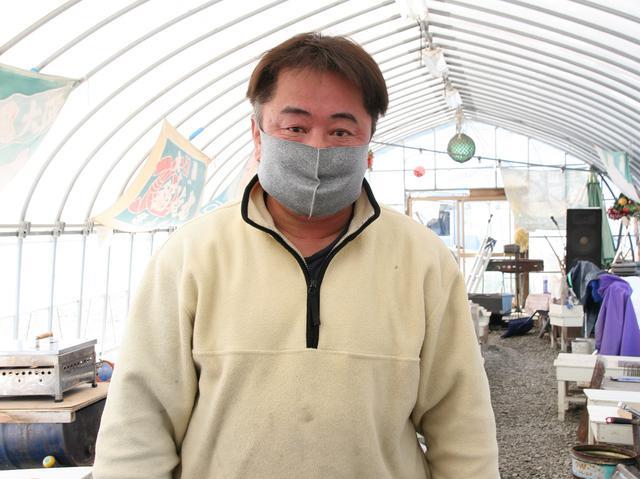 画像: ご主人の寺岡征己さん。震災復興ボランティアが、人生を変えた