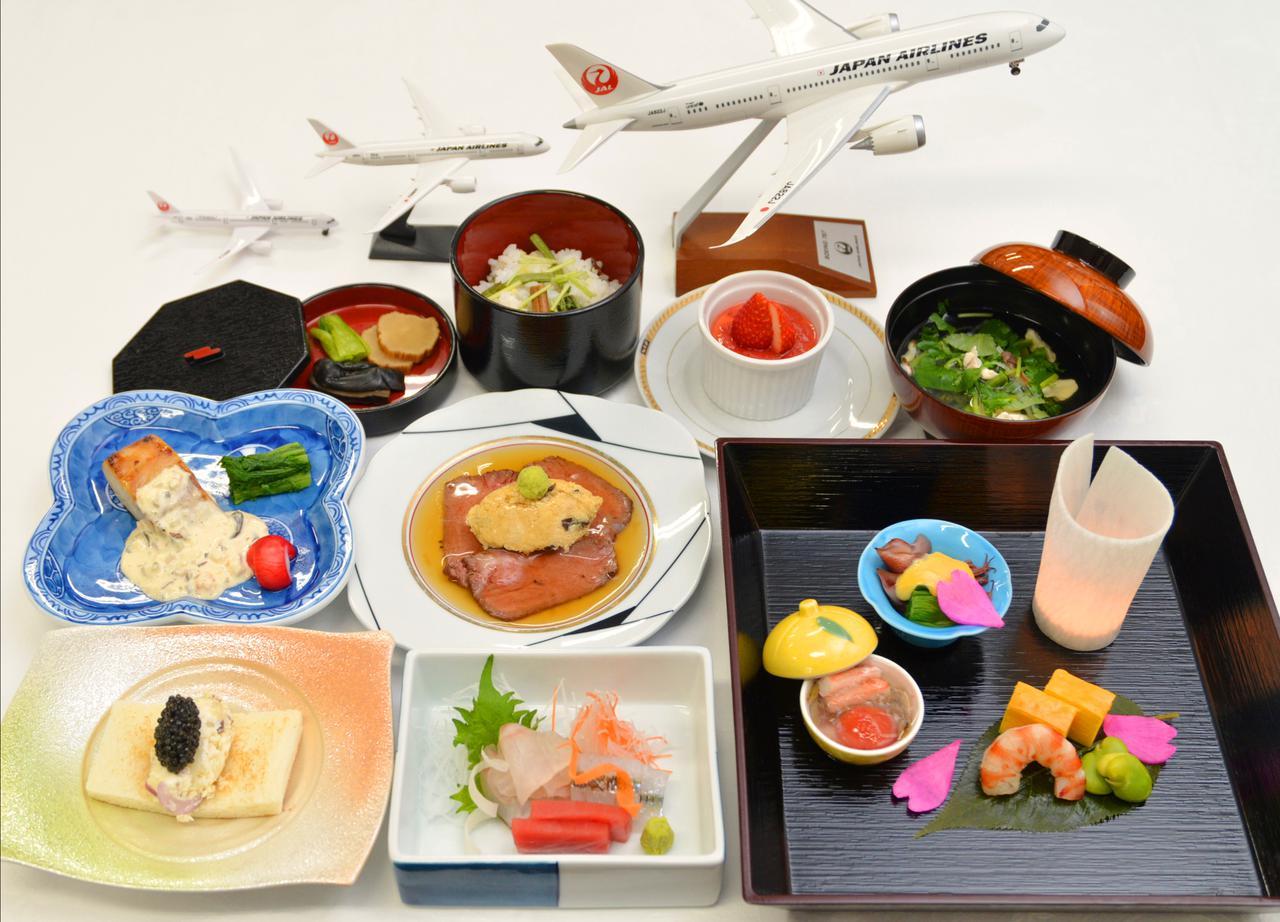 画像: JAL機内食シェフ監修コース料理