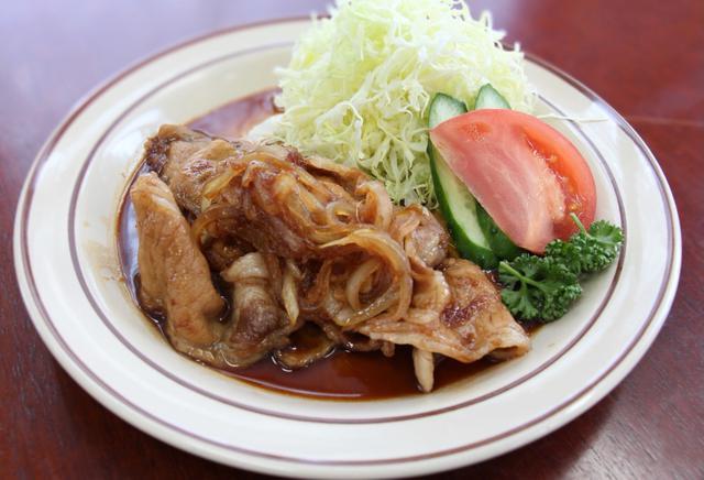 画像: 「豚テキ(生姜焼き)」