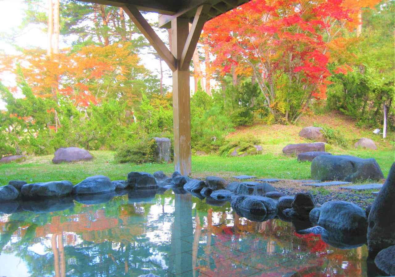 画像: 秋は紅葉や温泉(写真は千畑温泉 サン・アール)