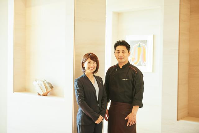 画像: 今村美穂女将(左)、今村将人シェフ(右)