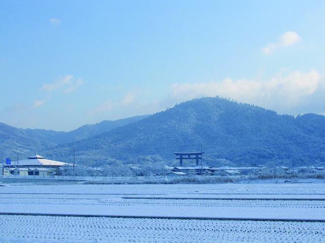 画像: 冬の三輪
