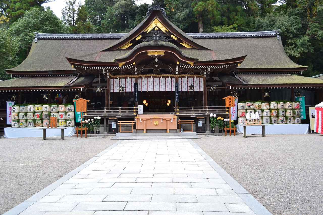 画像: 日本最古の神社といわれる「大神神社」
