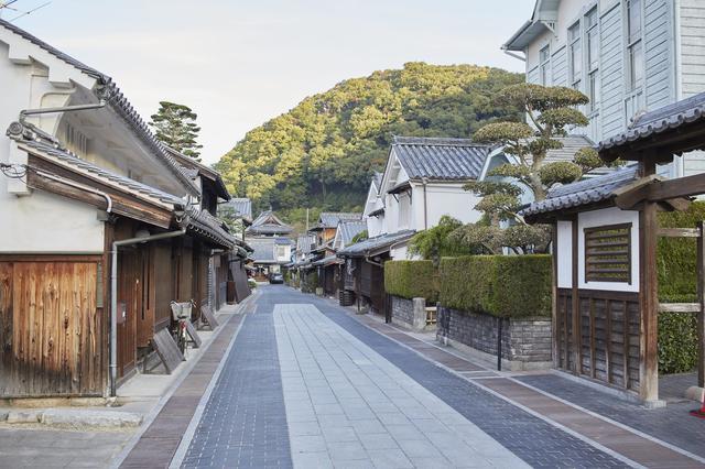 画像: 一帯が町並み保存地区として貴重な文化遺産になっている