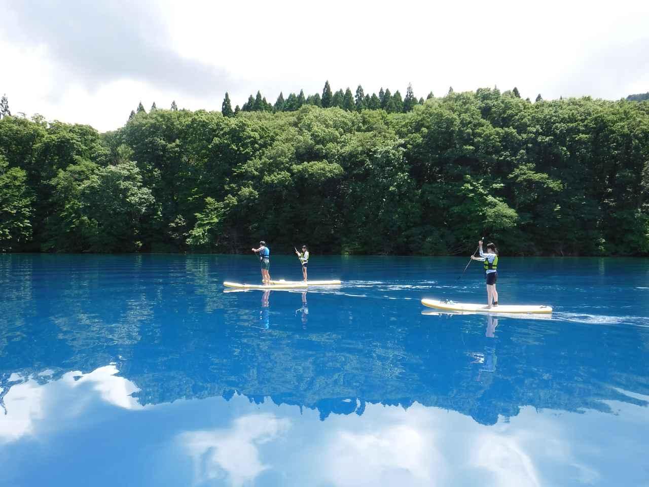 画像: 【絶景⑥】コバルトブルーの「田沢湖」で絶景アクティビティ(仙北市)
