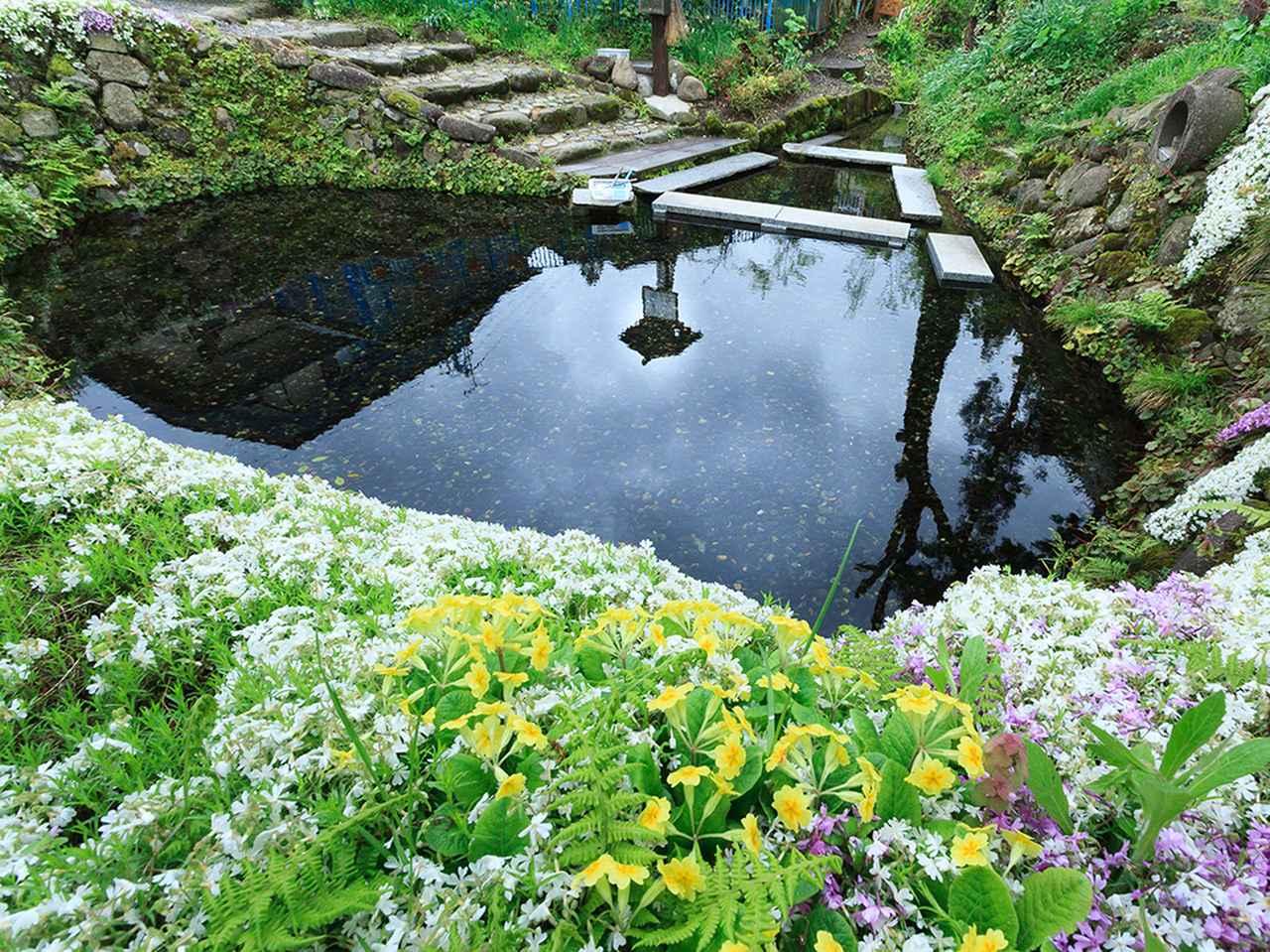 画像2: 【絶景⑦】足清水などを楽しめる「六郷湧水群」で癒やしのひとときを(美郷町)