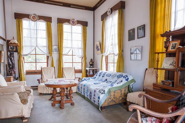 画像: 英語教師であったスマイザーの居宅として使われていた歴史を持ちます。
