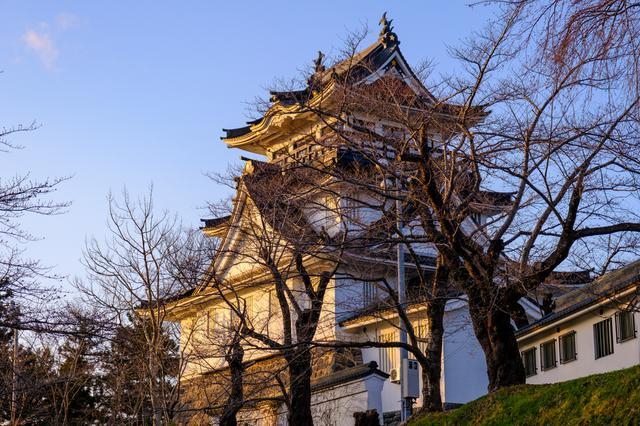 画像: 桜の名所・横手公園にある横手城は絶好の見晴らしスポット。