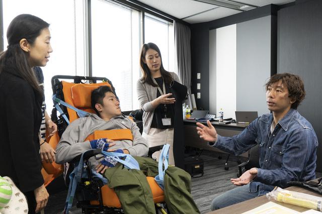 画像: 事前相談会に参加された鎌田さんご家族