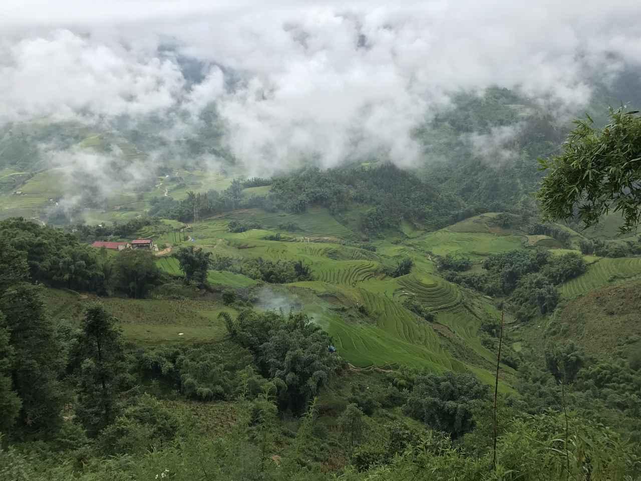 画像: ベトナム・サパの山道
