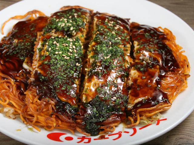画像: 地元の良さが詰まった、三次唐麺焼。鉄板で特に熱々をいただくこともできる